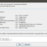 DBEdit - aggiunta driver JDBC